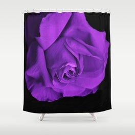 Rose violette purple Shower Curtain