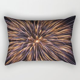 Fireworks Fantasy Rectangular Pillow