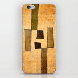 Protoglifo 03 'brown dance' iPhone Skin