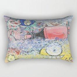 Brick Lane Market #3 Rectangular Pillow