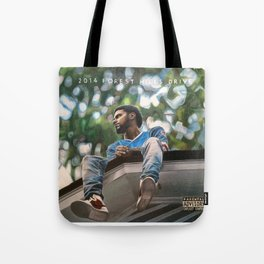 J.Cole 2014 Forest Hills Drive Drawing Tote Bag