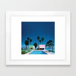 Hiroshi Nagai Art Print Poster Vaporwave Aesthetic Framed Art Print