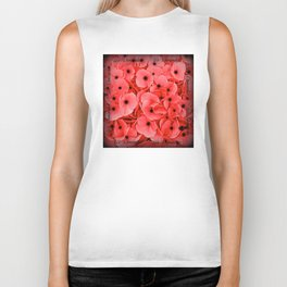 Veterans | Memorial Day | Remembrance Day | We Remember | Red Poppies | Nadia Bonello Biker Tank