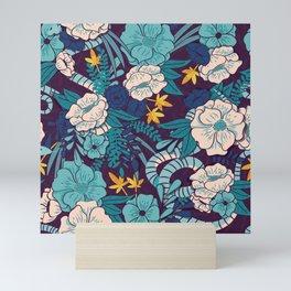 Jungle Pattern 003 Mini Art Print