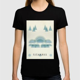 Istanbul Poster T-shirt