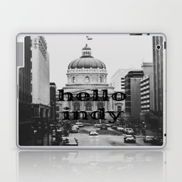 Hello Indy Laptop & iPad Skin