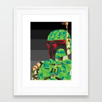 boba Framed Art Prints featuring Boba by Ardylles Kurniawan