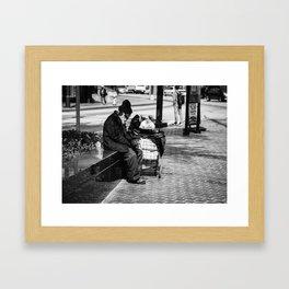 Wise Man Framed Art Print