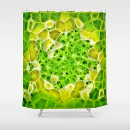 Pixel Shower Curtain