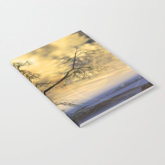 Tree in November sun Notebook