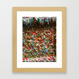 Sticky Love Framed Art Print