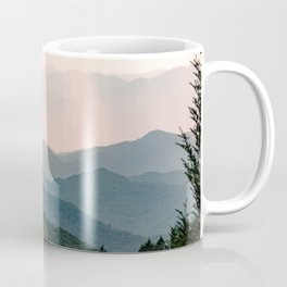 Smoky Mountain Pastel Sunset Coffee Mug