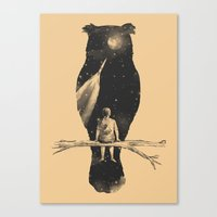 clouds Canvas Prints featuring I Have a Dream by Norman Duenas