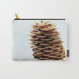 Simple Modern Pinecone Digital Art Carry-All Pouch