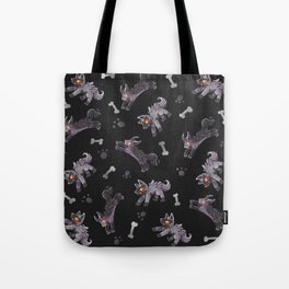 Poochyena & Mightyena pattern Tote Bag