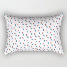 Popsicle - Slanted Bomb Pop #102 Rectangular Pillow