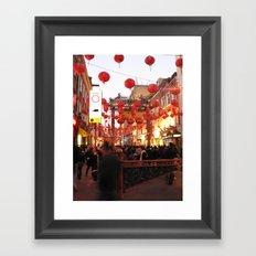 Chinese New Year, London Framed Art Print
