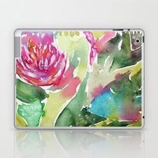 Floral abstraction || watercolor Laptop & iPad Skin