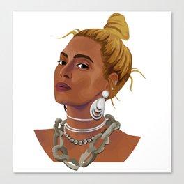 Queen Bey Canvas Print