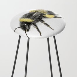 White-tailed bumblebee Counter Stool