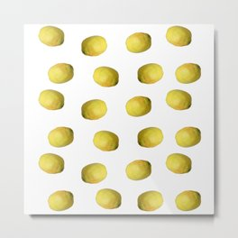 Lemon nature Metal Print