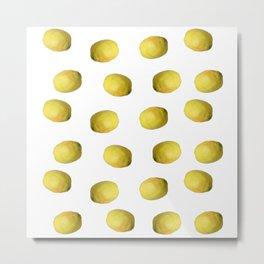 Lemon nature Metal Print