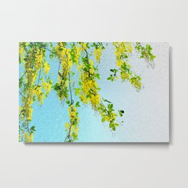 Golden spring Metal Print