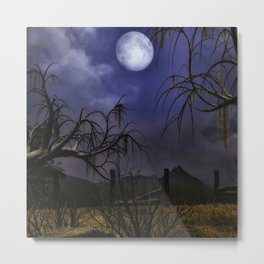 Spooky Night 2 Metal Print