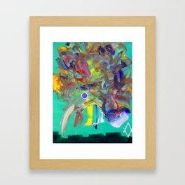Disheveled Framed Art Print