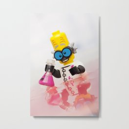 Experiment Gone Wrong - LEGO Metal Print
