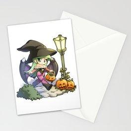 Halloween Morrigan Stationery Cards