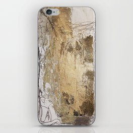 golden iPhone Skin
