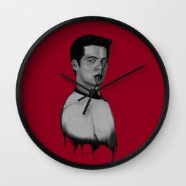 Bad Blood III Wall Clock