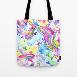 Mystical Rainbow Unicorn Tote Bag