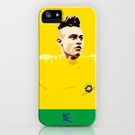 Neymar Brasil iPhone Case