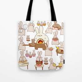 Baking buns Tote Bag