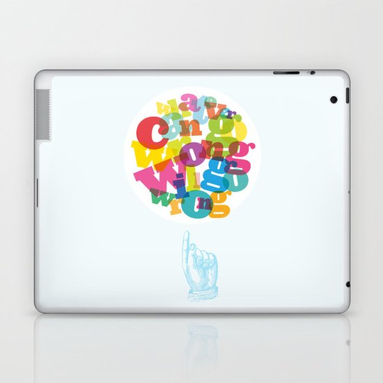 Whatever can go wrong will go wrong Laptop & iPad Skin