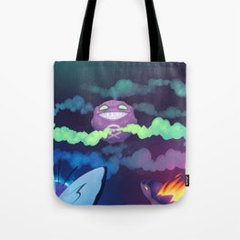 Toxic Encounter Tote Bag
