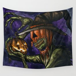 Hobnobbin' with a Goblin Wall Tapestry