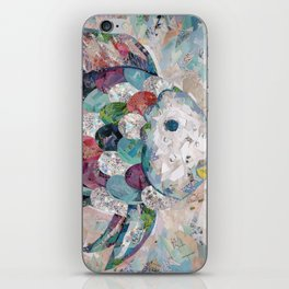 Rainbow Fish Collage iPhone Skin
