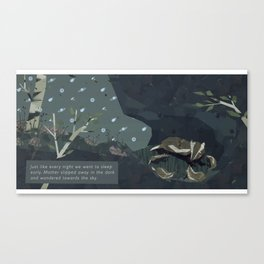 Shelter - Family Canvas Print
