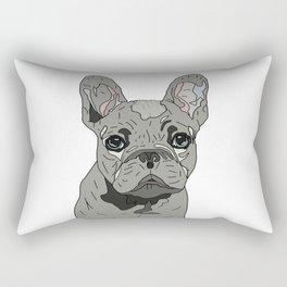 Frenchie Bulldog Puppy Rectangular Pillow