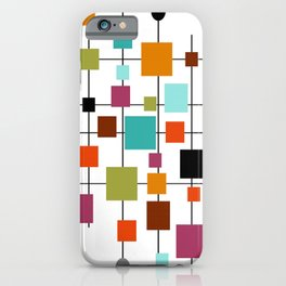 Mid-Century Modern Art 1.3.1 iPhone Case