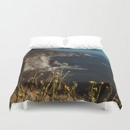 Big Sur Wild Flowers II Duvet Cover