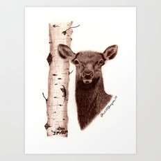 Lead Cows Know Art Print