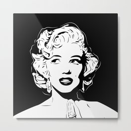 Marilyn | Pop Art | Monroe Metal Print