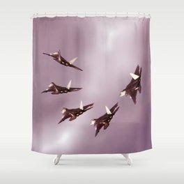 Raptor Shower Curtain