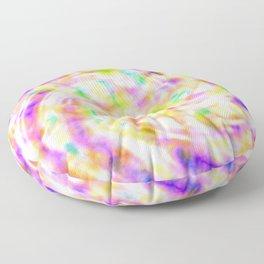 Hippie Tie Dye Floor Pillow