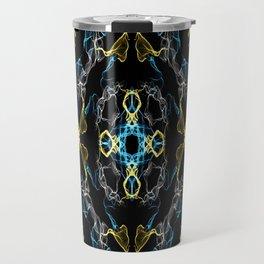 Abstract Silk Drawing Travel Mug