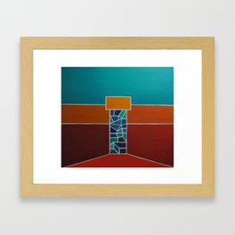 """Temple"" Framed Art Print"